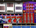 Samurai Sevens Three Reel Slot Game